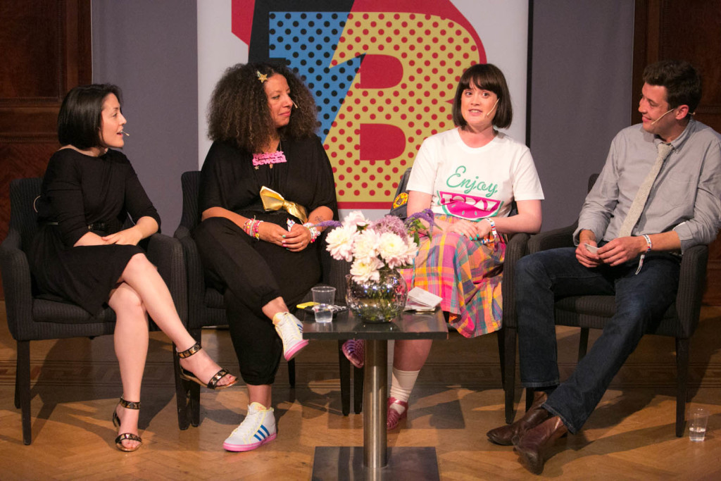 Grace Booney, Allison Sadler, Leona Thrift-Ola and Benjamin Hole at Instagram Panel