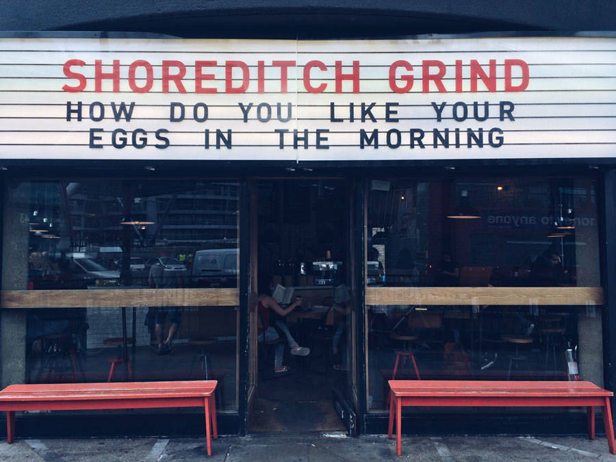 Coffee Shop Shoreditch Grind