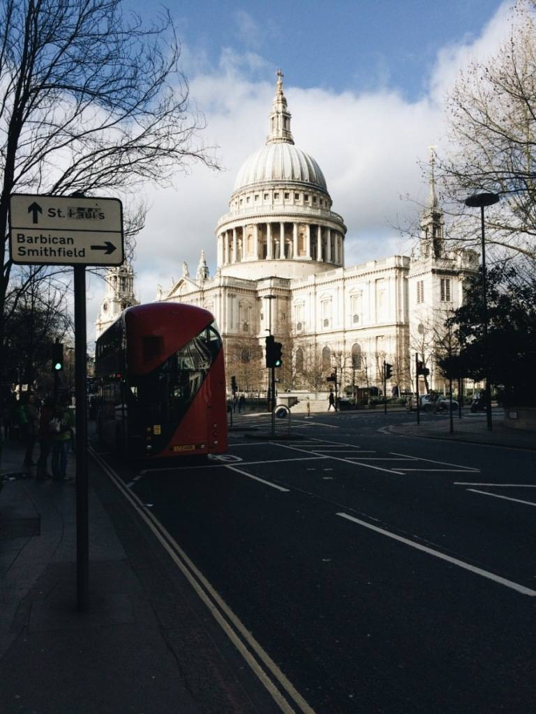 St. Paul's London Ok But First Coffee