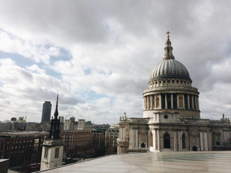 7 Views of St. Paul's in London