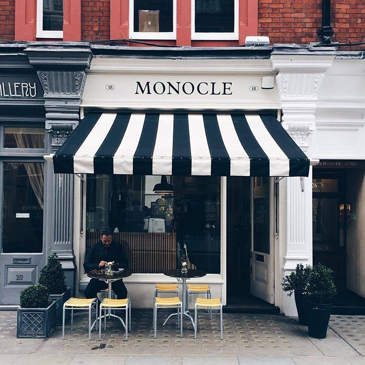10 ideas for street photo in London - Ok But First Coffee - Outdoor Cafes