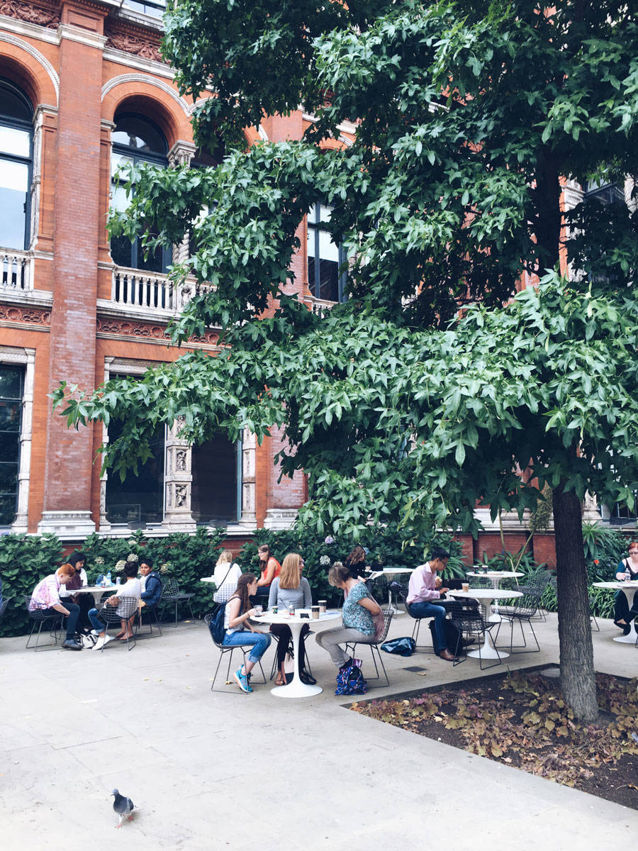 VA Museum London Coffee Cafe Ok But First Coffee Katya Jackson