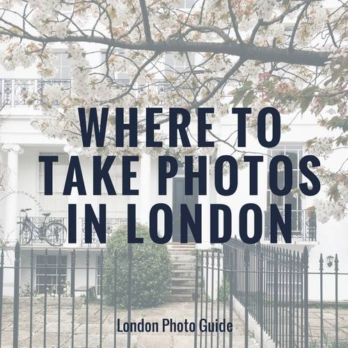 Where to take photos in London