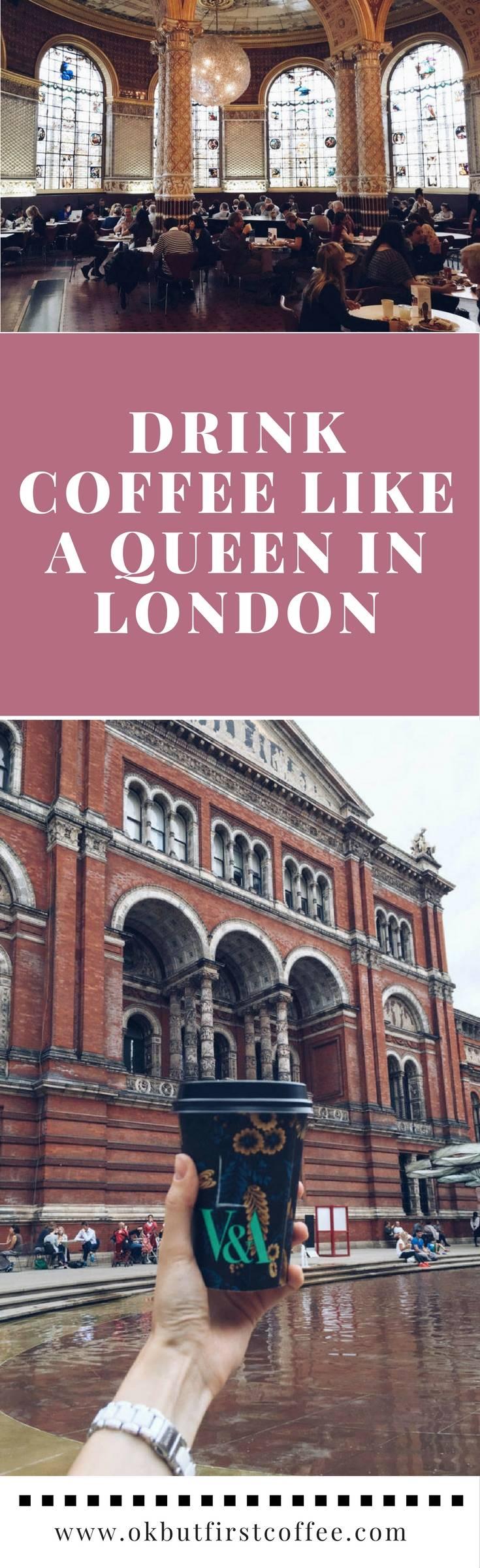 Hidden London Coffee Shop Victoria and Albert Museum