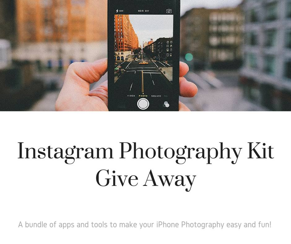 GIVE AWAY! Enter to Win Travel iPhone Photography Course, tools and gifts to make your Photography easy and fun!