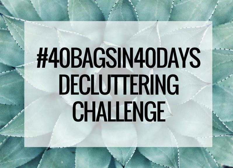 40Bagsin40Days Decluttering Challenge Ok But First Coffee