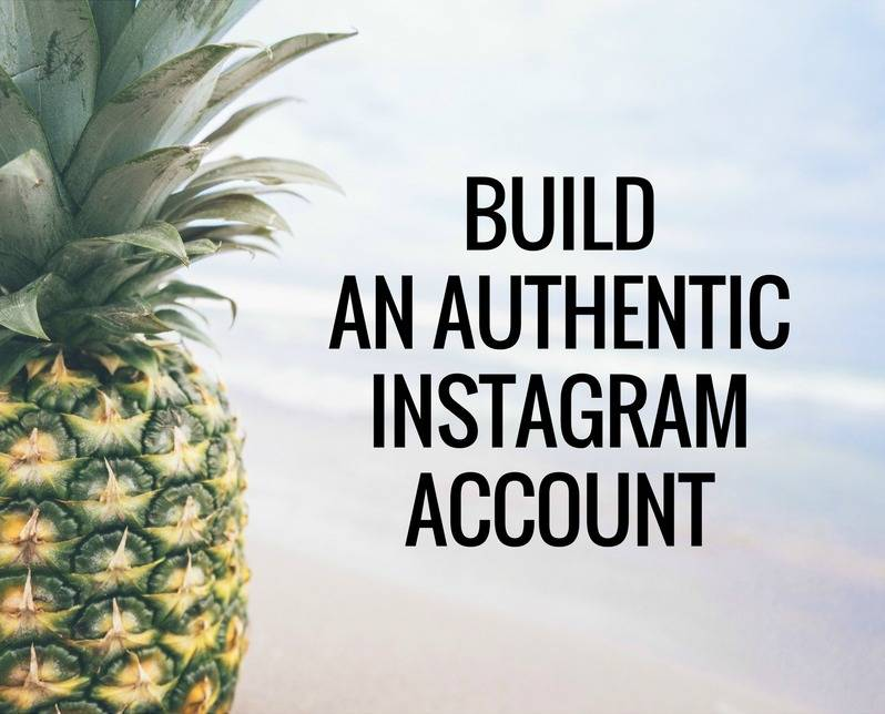 Build an Authentic Instagram Account Course