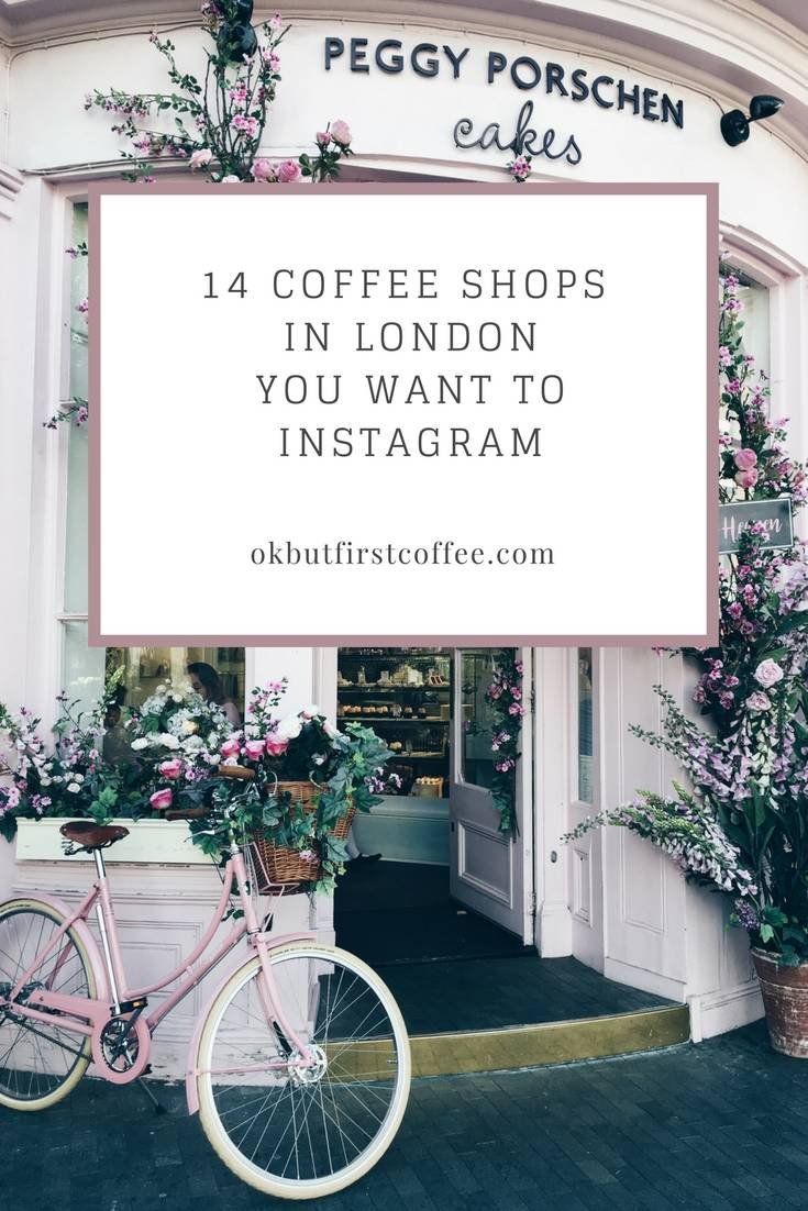 14 Coffee Shops In London You Want to Instagram. Click through to see 65 more Instagrammable locations.