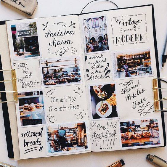 Travel Journaling with instagram photos