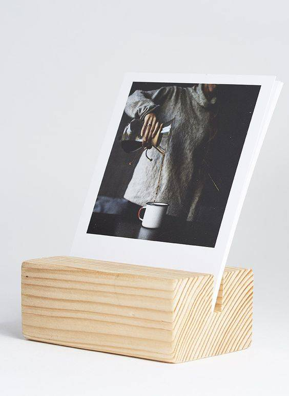 wood block for instagram photos
