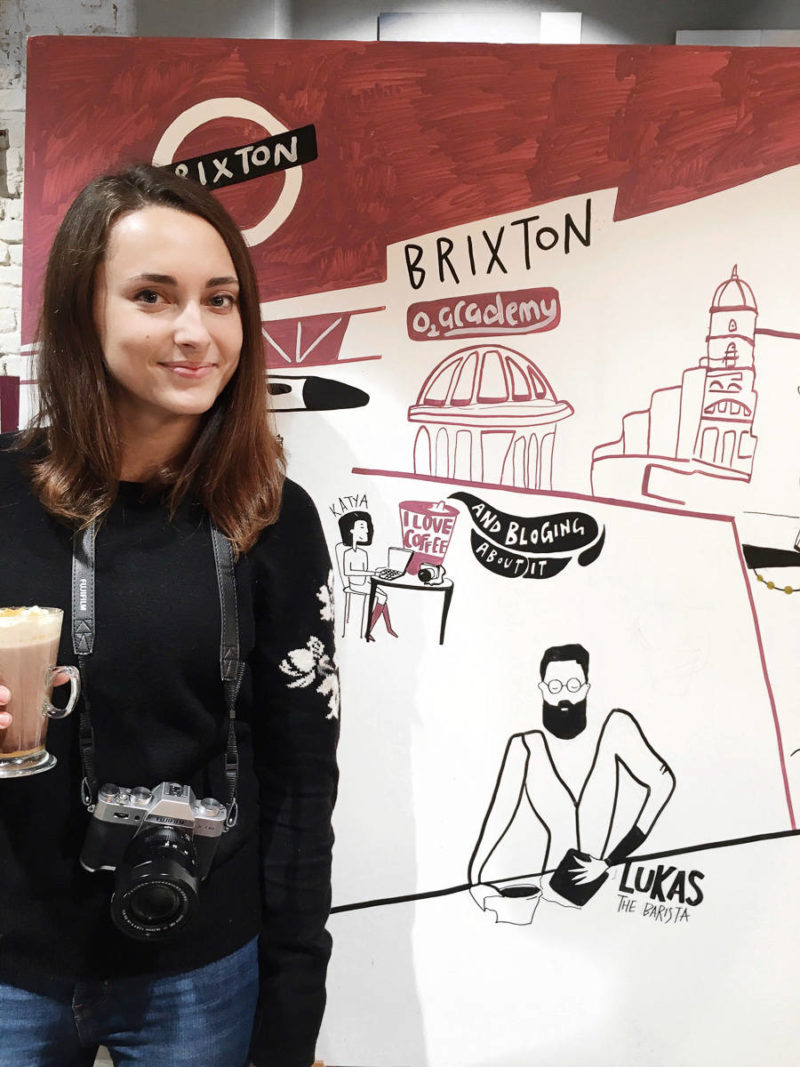 ok but first coffee costa coffee brixton Katya Jackson